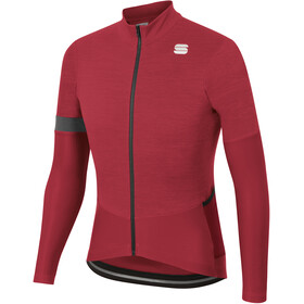 Sportful Supergiara Maillot Thermique Homme, red rumba